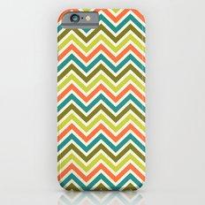 Citronique Series: Chevron Grand Sorbet Slim Case iPhone 6s