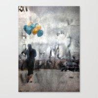 I Walk Alone Canvas Print
