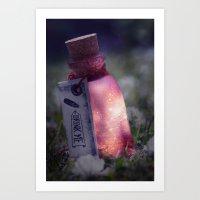 Drink me poison Art Print