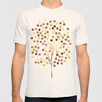 Tree Of Life Amber By Ja… Mens Fitted Tee Natural SMALL