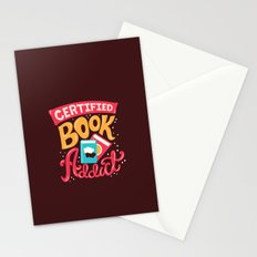 Certified Book Addict Stationery Cards