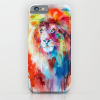 iPhone Cases featuring Lion by Slaveika Aladjova