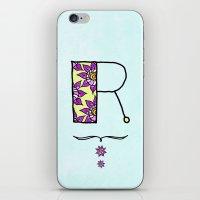R R iPhone & iPod Skin