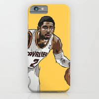 iPhone & iPod Case featuring Kyrie Irving by Johnaddyn