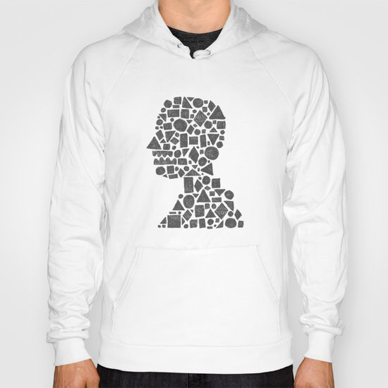 Untitled Silhouette in Reverse. Hoody