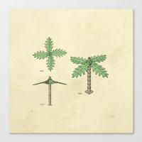 Lego Tree Canvas Print