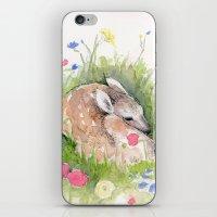 Little Fawn iPhone & iPod Skin