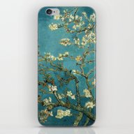 iPhone & iPod Skin featuring Van Gogh - Blossoming Al… by TilenHrovatic