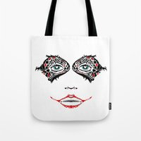 Day Of The Quinn Sugar Skull Tote Bag