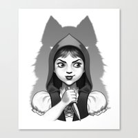 Little Red Riding Hood's… Canvas Print