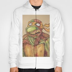 zombie ninja turtle Hoody