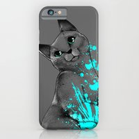 iPhone & iPod Case featuring Russian Blue by Anwar Rafiee
