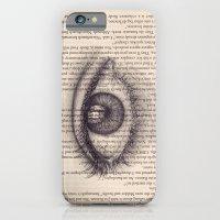 Eye in a Book iPhone 6 Slim Case