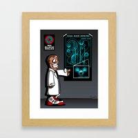 Mass Effect Too! Framed Art Print