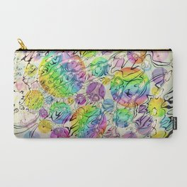 Carry-All Pouch - bursting bubbles are free - donphil