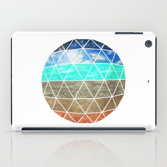 Elemental Geodesic  iPad Case