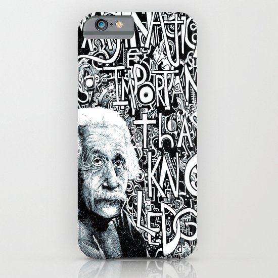 Einstein.  iPhone & iPod Case