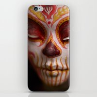 Crimson Harvest Muertita Detail iPhone & iPod Skin