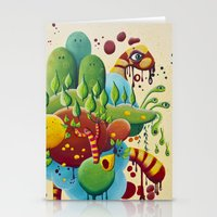 Dripping Drops Stationery Cards