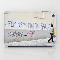 Feminism fights back iPad Case