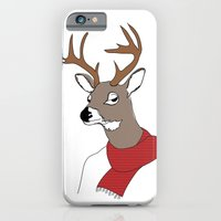 iPhone & iPod Case featuring Fall Deer by near modern disaster