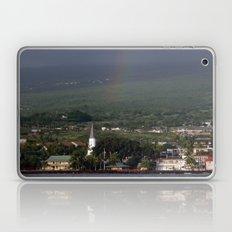Rainbow over Kona Laptop & iPad Skin