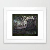 Dreaming ~ Silent Screaming Framed Art Print