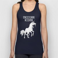 Unicorn rider Unisex Tank Top