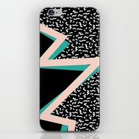 memphis iPhone & iPod Skin