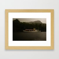 boat 1 Framed Art Print