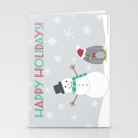 Happy holidays! Stationery Cards