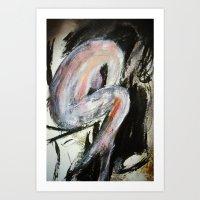 Expressionism Female Stu… Art Print