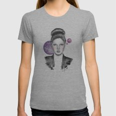 Venus as a Girl Womens Fitted Tee Athletic Grey SMALL