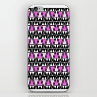 Wild Violet Arrowheads iPhone & iPod Skin