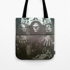 Neo Bedlam Dystopia Tote Bag