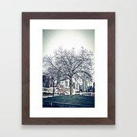 The Urban Giving Tree Framed Art Print