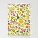 Fruit Mix Stationery Cards