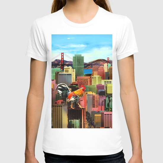 San Francisco City Chicken T-shirt