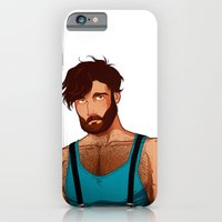 iPhone & iPod Case featuring Bear - Wolf by Dronio