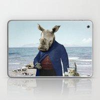 Mr. Rhino's Day At The B… Laptop & iPad Skin