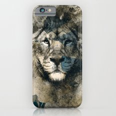 LION CAMOUFLAGE iPhone 6 Slim Case
