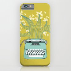 The Typing Tree Blue iPhone 6 Slim Case