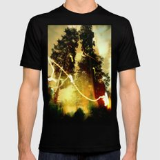 Fire Keeper Soul SMALL Mens Fitted Tee Black
