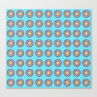 Tania Circle Repeat Canvas Print