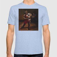 TANGO Mens Fitted Tee Athletic Blue SMALL