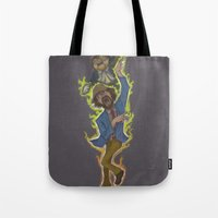 Duncan And Lil' Hobo Tote Bag