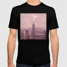 Stardust Covering New York Mens Fitted Tee Black SMALL