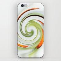 Lily stamen twirled iPhone & iPod Skin