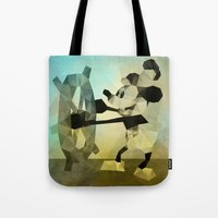 Mickey Mouse As Steamboa… Tote Bag
