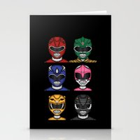 It's Morphin' Time! Stationery Cards